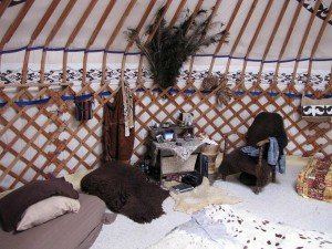 interieur yurt