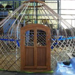 Anansi yurts Voorbeeld frame 5 meter yurt